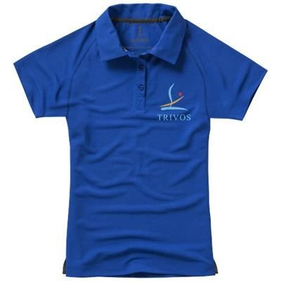 Picture of OTTAWA SHORT SLEEVE LADIES COOL FIT POLO in Blue