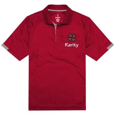 Picture of KISO SHORT SLEEVE POLO in Red