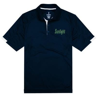 Picture of KISO SHORT SLEEVE MENS COOL FIT POLO in Navy