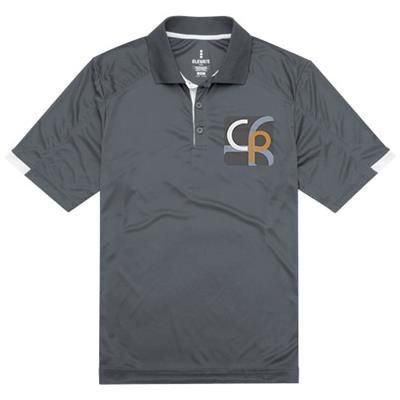 Picture of KISO SHORT SLEEVE POLO in Steel Grey