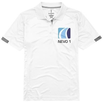 Picture of KISO SHORT SLEEVE LADIES COOL FIT POLO in White Solid