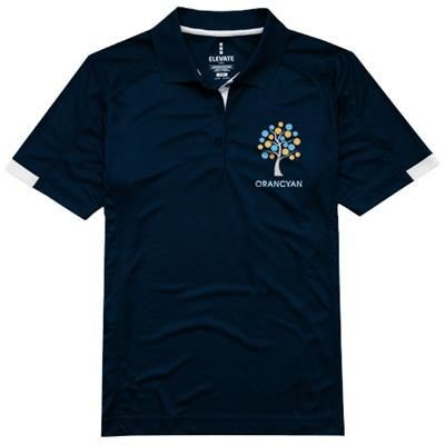 Picture of KISO SHORT SLEEVE LADIES COOL FIT POLO in Navy