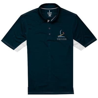 Picture of PRESCOTT SHORT SLEEVE POLO in Navy