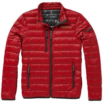 Picture of SCOTIA LIGHT DOWN JACKET in Red