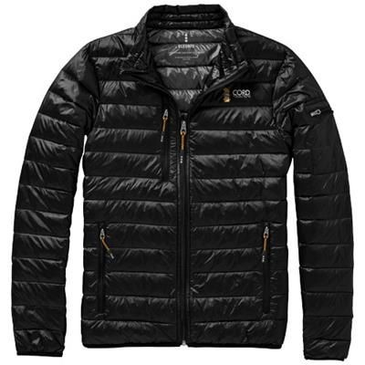 Picture of SCOTIA LIGHT DOWN JACKET in Black Solid