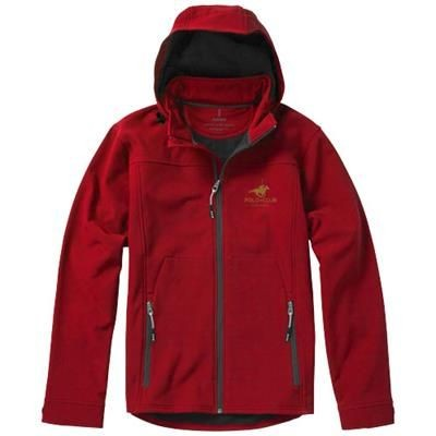 Picture of LANGLEY SOFTSHELL JACKET in Red