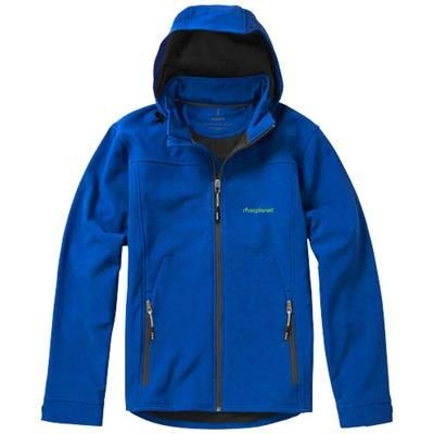 Picture of LANGLEY SOFTSHELL JACKET in Blue