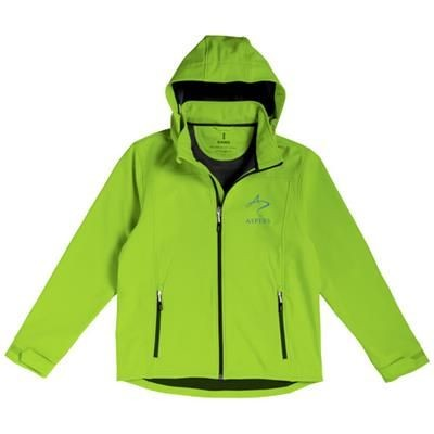 Picture of LANGLEY SOFTSHELL JACKET in Apple Green