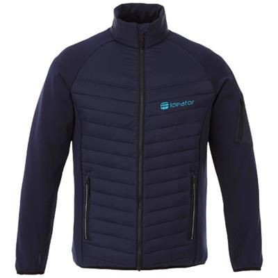 Picture of BANFF HYBRID THERMAL INSULATED JACKET in Navy