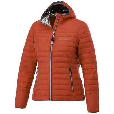 Picture of SILVERTON LADIES THERMAL INSULATED PACKABLE JACKET in Orange