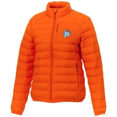 Picture of ATHENAS LADIES THERMAL INSULATED JACKET in Orange