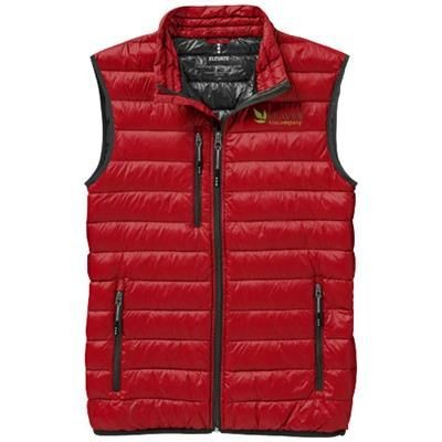 Picture of FAIRVIEW LIGHT DOWN BODYWARMER in Red