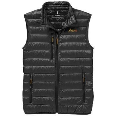 Picture of FAIRVIEW LIGHT DOWN BODYWARMER in Anthracite Grey