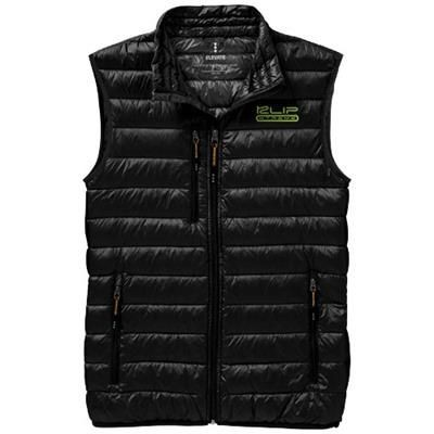 Picture of FAIRVIEW LIGHT DOWN BODYWARMER in Black Solid