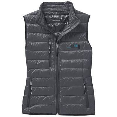 Picture of FAIRVIEW LIGHT DOWN LADIES BODYWARMER in Steel Grey