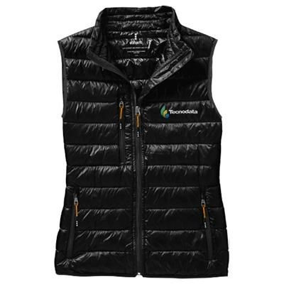 Picture of FAIRVIEW LIGHT DOWN LADIES BODYWARMER in Black Solid