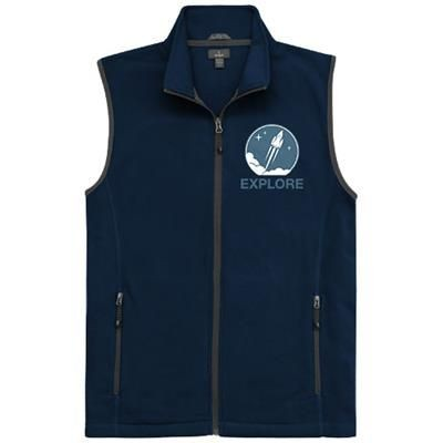 Picture of TYNDALL MICRO FLEECE BODYWARMER in Navy