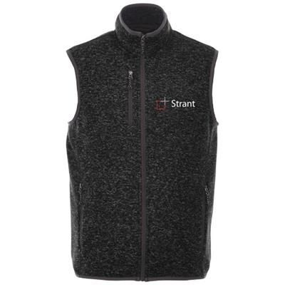 Picture of FONTAINE KNIT BODYWARMER in Heather Smoke