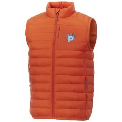 Picture of PALLAS MENS THERMAL INSULATED BODYWARMER in Orange
