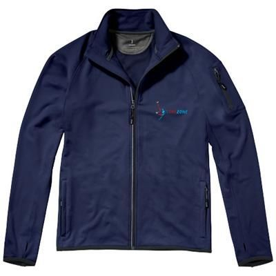Picture of MANI POWER FLEECE FULL ZIP JACKET in Navy
