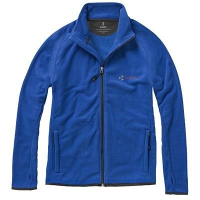 Picture of BROSSARD MICRO FLEECE FULL ZIP JACKET in Blue