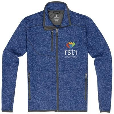 Picture of TREMBLANT KNIT JACKET in Heather Blue