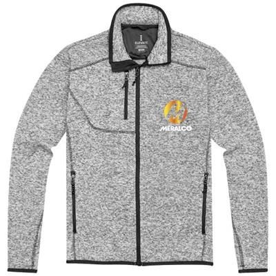 Picture of TREMBLANT KNIT JACKET in Heather Grey