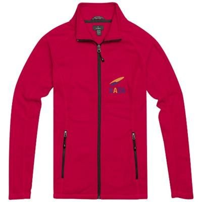 Picture of RIXFORD LADIES POLYFLEECE FULL ZIP in Red