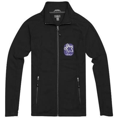 Picture of RIXFORD LADIES POLYFLEECE FULL ZIP in Black Solid