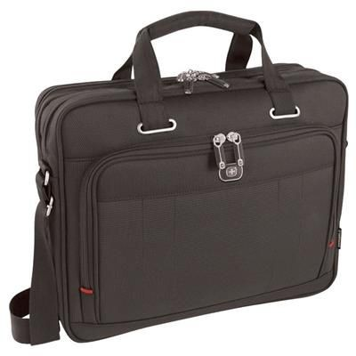 Picture of WENGER ACQUISITION LAPTOP BRIEFCASE with Tablet E-reader Pocket