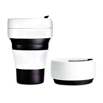Picture of STOJO COLLAPSIBLE POCKET CUP in Black