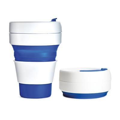 Picture of STOJO COLLAPSIBLE POCKET CUP in Blue