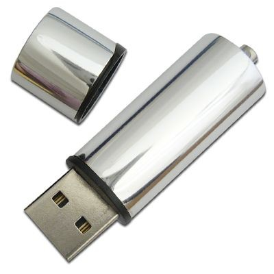 Picture of LIPSTICK 1 METALLIC USB FLASH DRIVE MEMORY STICK