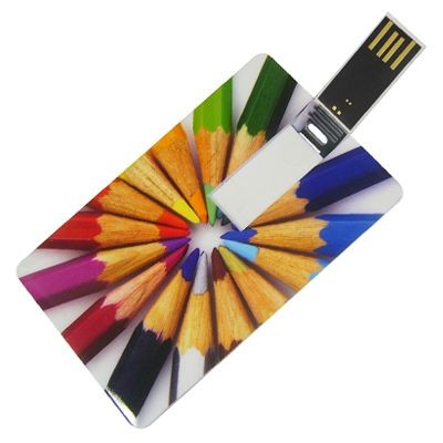 Picture of FLIP CARD USB FLASH DRIVE MEMORY STICK