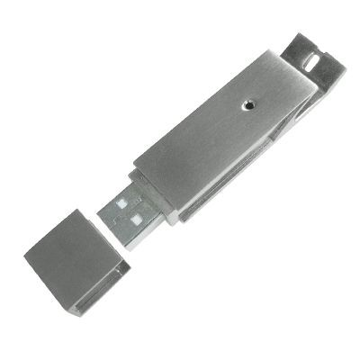Picture of BOTTLE OPENER 1 USB FLASH DRIVE MEMORY STICK in Silver
