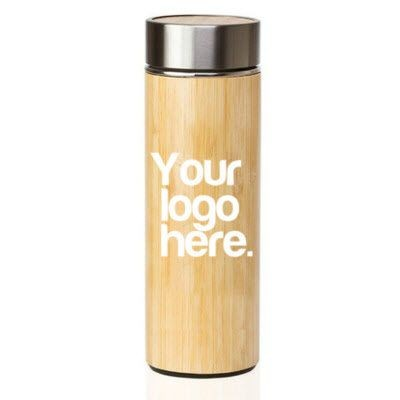 Picture of E-TREND BAMBOO FLASK