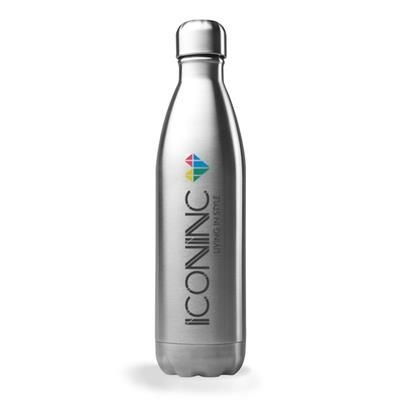 Picture of LUCCA STAINLESS STEEL METAL WATER BOTTLE 750ML