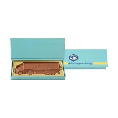 Picture of 1 PIECE TRUCK SHAPE CUSTOMIZED BELGIAN CHOCOLATE