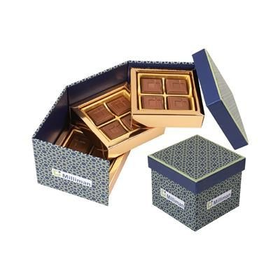 Picture of 12 PIECE CUSTOMIZED BELGIAN CHOCOLATE