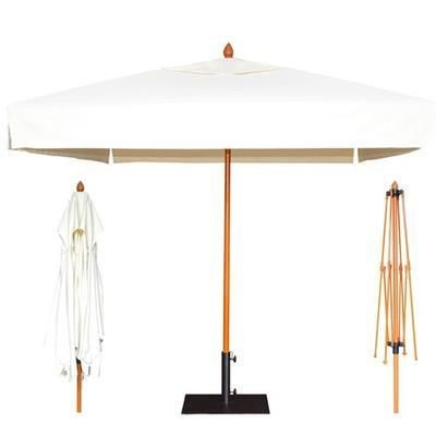 Picture of COFFEE SHOP WOOD PARASOL