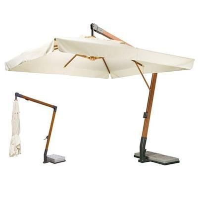 Picture of WOODEN CANTILEVER PARASOL