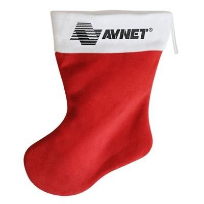 Picture of FABRIC CHRISTMAS STOCKING