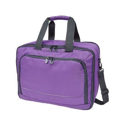 Picture of FALCON 15 INCH LAPTOP 3-WAY TRAVEL CABIN BAG in Purple