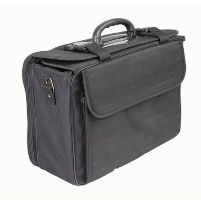 Picture of FALCON 15 INCH LAPTOP COMPACT PILOT CASE SALES CASE in Black