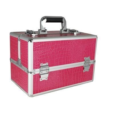 Picture of VANITY FLAIR LARGE MAKE-UP VANITY CASE in Pink