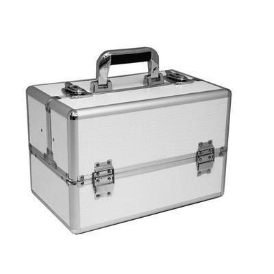 Picture of VANITY FLAIR LARGE MAKE-UP VANITY CASE in White