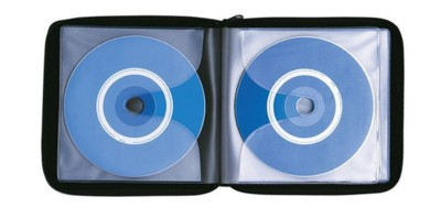Picture of FALCON CD & DVD HOLDER CASE in Black