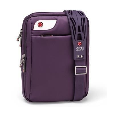 Picture of I-STAY 10 INCH IPAD TABLET BAG with Non-slip Bag Strap in Purple