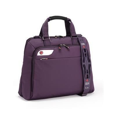 Picture of I-STAY LADIES 15 INCH LAPTOP BAG with Non-slip Bag Strap in Purple