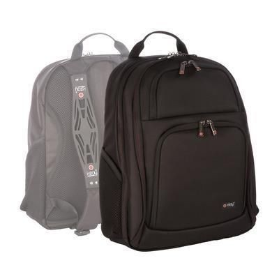 Picture of I-STAY 15 INCH LAPTOP & 10 INCH BACKPACK RUCKSACK with Dual Non-slip Bag Straps in Black